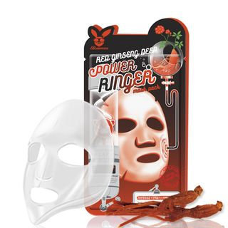 Elizavecca - Red Ginseng Deep Power Ringer Mask Pack 1pc 23ml