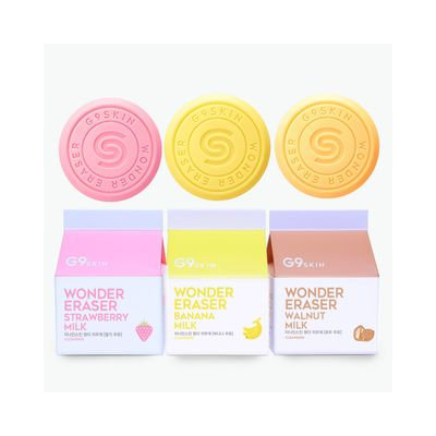 G9SKIN - Wonder Eraser 100g (3 Types) Strawberry