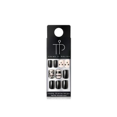 MACQUEEN - T.I.P. Lux Like Gel Nail Tip (#605 Twinkle Star) 24pcs