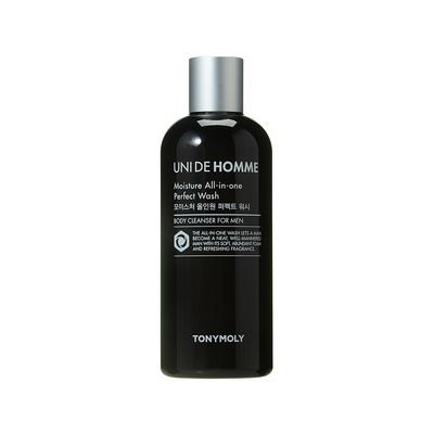 Tony Moly - Uni De Homme Moisture All-In-One Perfect Wash 300ml 300ml
