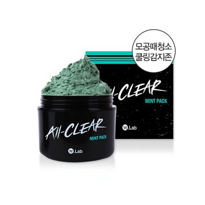 W.Lab All-Clear Mint Pack 100ml