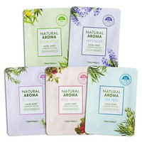 Tony Moly - Natural Aroma Mask Sheet 1pc (5 Types) #05 Eucalyptus