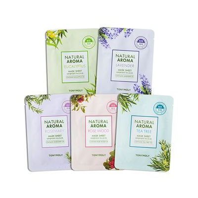 Tony Moly - Natural Aroma Mask Sheet 1pc (5 Types) #02 Lavender