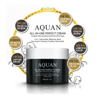 Anskin - Aquan All-In-One Perfect Cream 200g 200g