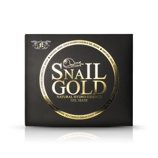 Anskin - Natural Snail Gold Hydro Essence Gel Mask 80g x 5pcs