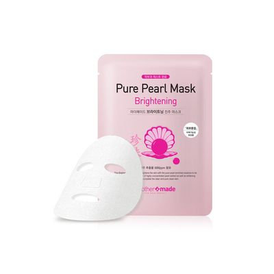 mother made - Brightening Pure Pearl Mask 1pc 25ml