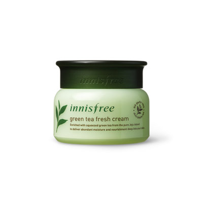 Innisfree - Green Tea Fresh Cream 50ml 50ml