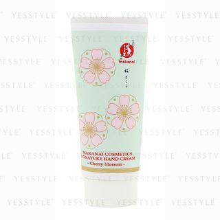 Makanai Cosmetics - Natural Perfection Hand Cream (Cherry Blossom) (Tube) 60g