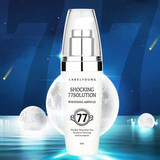 Label Young - Shocking 77 Solution Whitening Ampoule 45ml