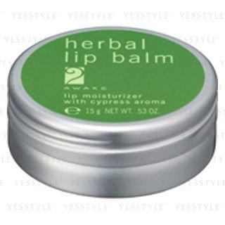 Kose - AWAKE Herbal Lip Balm 15g
