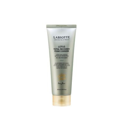 LABIOTTE - Lotus Total Recovery Foam Cleanser 150ml 150ml