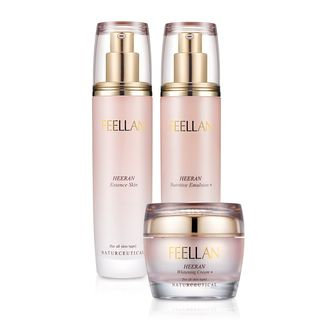 BELLAMONSTER - FEELLAN Heeran Basic Set: Essence Skin 120ml + Nutritive Emulsion 120ml + Whitening Cream 50ml 3pcs