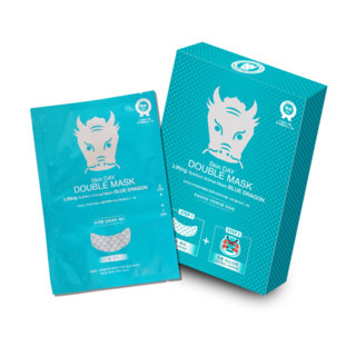 OnDay - Skin Day Double Mask Lifting Nutrition Animal Mask (Blue Dragon) 10pcs 10pcs