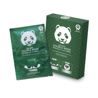 OnDay - Skin Day Double Mask Aqua Moisture Animal Mask (Panda) 10pcs 10pcs