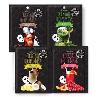 Berrisom - Cocktail Recipe Mask 10pcs (4 Types) Pina Colada