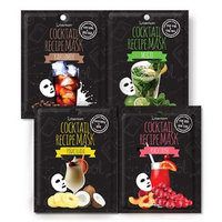 Berrisom - Cocktail Recipe Mask 10pcs (4 Types) Kahlua Milk