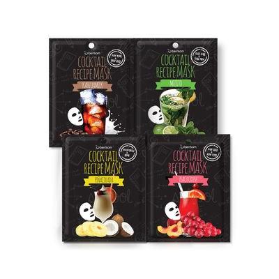 Berrisom - Cocktail Recipe Mask 10pcs (4 Types) Mojito