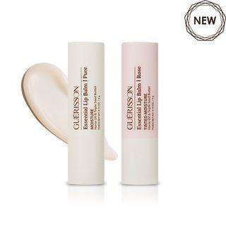 CLAIRE'S KOREA - GUERISSON Essential Lip Balm (2 Types) #02 Rose