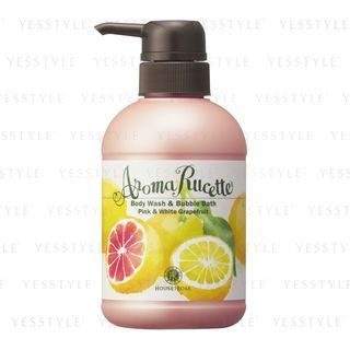 House of Rose - Aroma Rucette Body Wash & Bubble Bath (Pink & White Grapefruit) 350ml