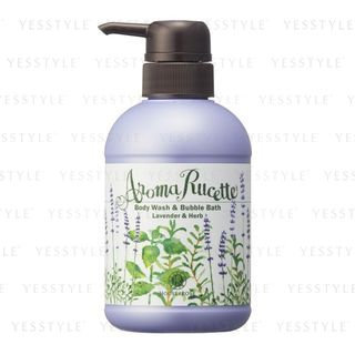 House of Rose - Aroma Rucette Body Wash & Bubble Bath (Lavender & Herb) 350ml