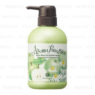 House of Rose - Aroma Rucette Body Wash & Bubble Bath (Green Apple & Chamomile) 350ml