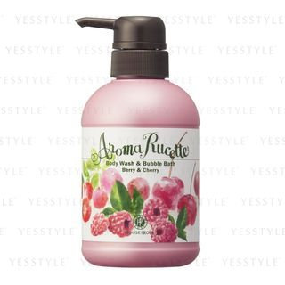 House of Rose - Aroma Rucette Body Wash & Bubble Bath (Berry & Cherry) 350ml