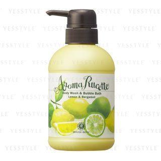 House of Rose - Aroma Rucette Body Wash & Bubble Bath (Lemon & Bergamot) 350ml