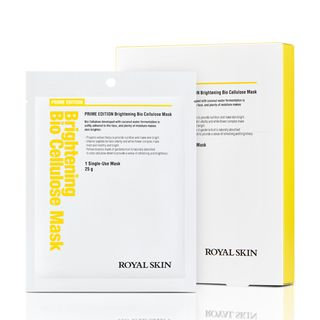 ROYAL SKIN - Prime Edition Brightening Bio Cellulose Mask 5pcs 25g x 5