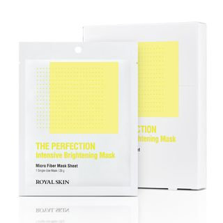ROYAL SKIN - The Perfection Brightening Moisture Mask 5pcs 28g x 5