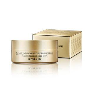 ROYAL SKIN - The Gold Edition 24K Gold Hydrogel Eye Patch 60pcs 90g