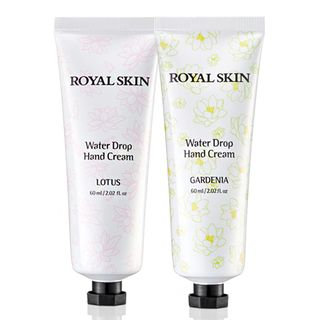 ROYAL SKIN - Water Drop Hand Cream 60ml (2 Types) Lotus