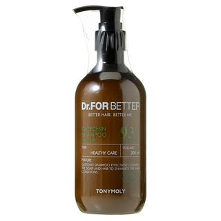 Tony Moly - Dr. For Better Catechin Shampoo 300ml 300ml