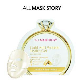 ALL MASK STORY - Gold Anti Wrinkle Hydro Gel Mask 10pcs 30g x 10pcs
