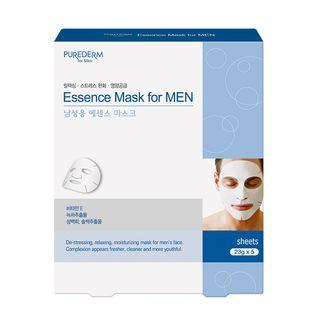 PUREDERM - Essence Mask For Men 5pcs 23g x 5pcs