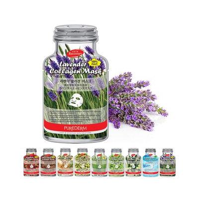 PUREDERM - Green Tea Collagen Mask 1pc 18ml