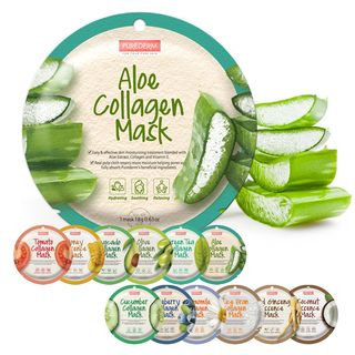 PUREDERM - Aloe Collagen Circle Mask 1pc 18g