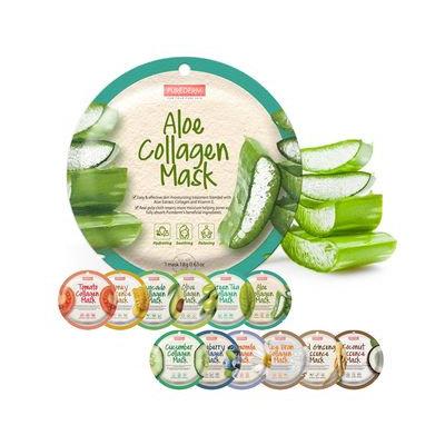 PUREDERM - Rice Bran Collagen Circle Mask 1pc 18g