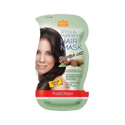 PUREDERM - Shiny & Hydrating Hair Mask (Jojoba Oil) 20g 20g