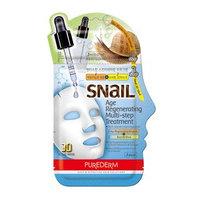 PUREDERM - Snail Age Regenerating Multi-Step Treatment: Ampoule 2ml + Snail 3D Mask 23ml 25ml