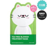 DEWYTREE - Teatree Blemish Treatment Mask 10pcs (Dingo Edition) 10pcs