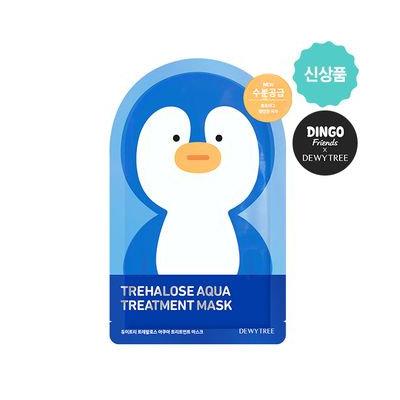 DEWYTREE - Trehalose Aqua Treatment Mask 10pcs (Dingo Edition) 10pcs