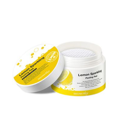 Secret Key - Lemon Sparking Peeling Pad 70pcs 130ml