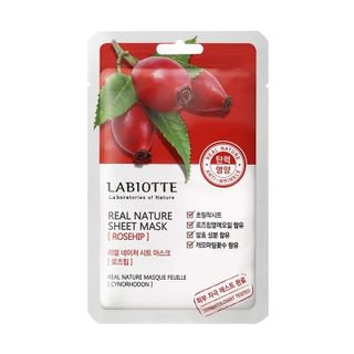 LABIOTTE - Real Nature Sheet Mask (Rosehip) 1pc 18g