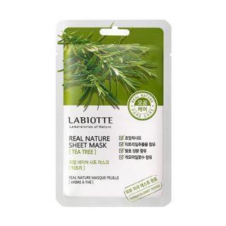 LABIOTTE - Real Nature Sheet Mask (Tea Tree) 1pc 18g