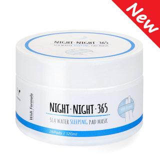 Wish Formula - Night Night 365 Sea Water Sleeping Pad Mask 26pcs 120ml