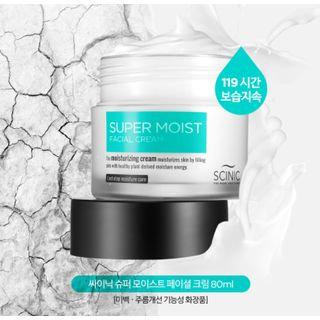SCINIC - Super Moist Facial Cream 80ml 80ml