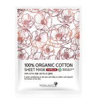 NATURAL PACIFIC - 100% Organic Cotton Sheet Mask Camellia 1pc 25g