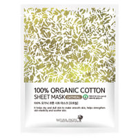 NATURAL PACIFIC - 100% Organic Cotton Sheet Mask Oat 1pc 25g