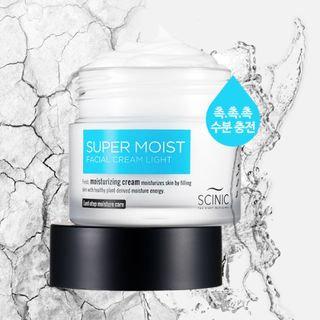 SCINIC - Super Moist Facial Cream Light 80ml 80ml