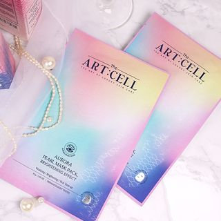 DAYCELL - The Artcell Aurora Pearl Mask Pack Brightening Effect 1pc 30g